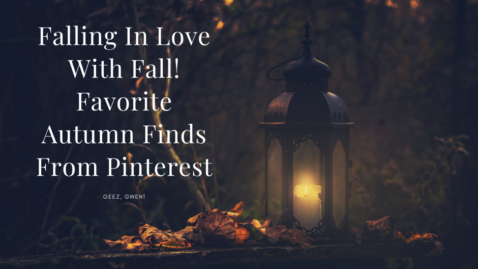 Favorite Fall Decor and More