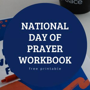 National Day of Prayer Workbook for students