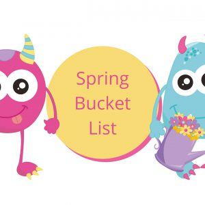 Spring Bucket List Printable for Students