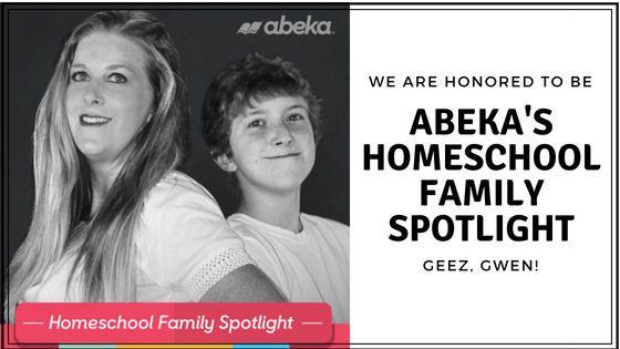 Abeka Homeschool Family Spotlight