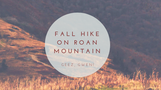 Fall Hiking Roan Mountain