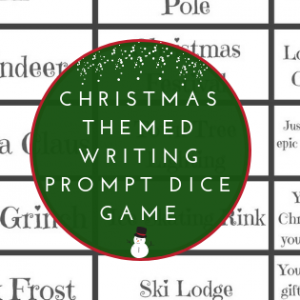 Christmas Writing Prompt Dice Game