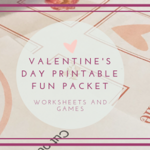 Printable Valentine's Day Fun Packet