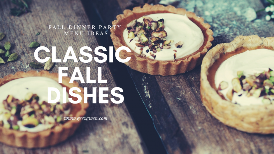 Classic Fall Dishes - These Fall recipes include entrees, side dishes and desserts that are perfect for Harvest Time