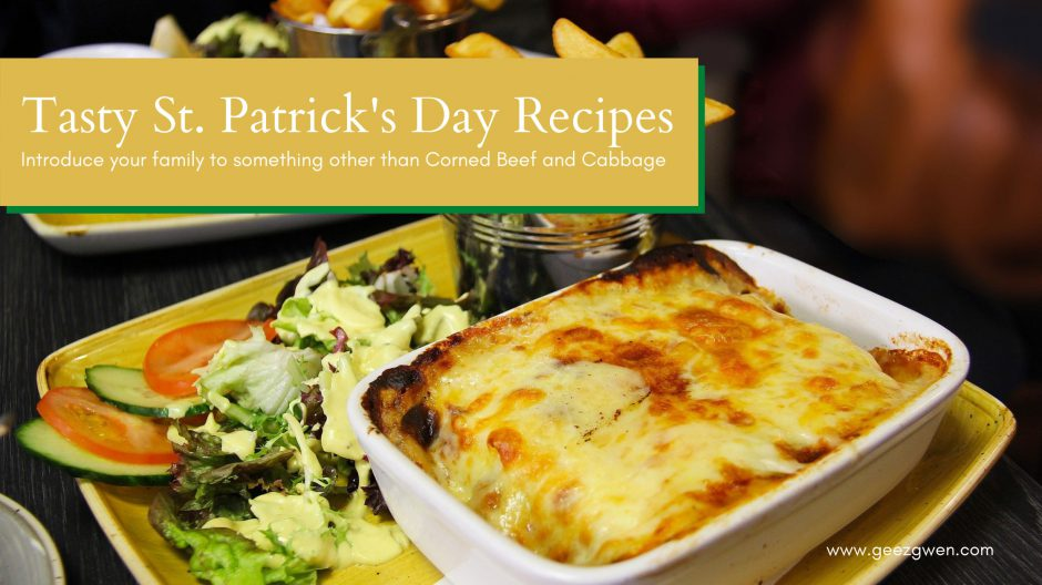 St. Patrick's Day Celebration - Irish Food Recipes