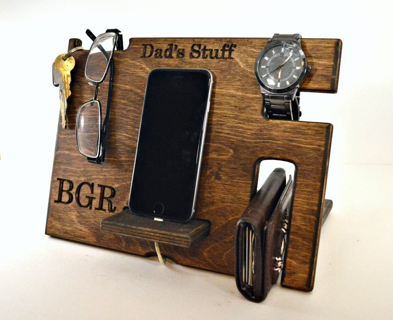 Dad Caddy Docking Station Father's Day Gift Idea