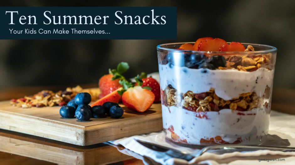 Summer Snack Ideas for Kids