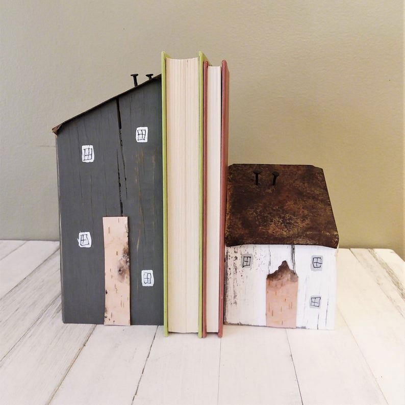 House bookends perfect your homeschool room.
