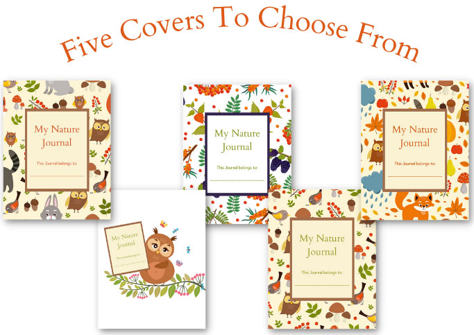 Nature Journal Cover Options