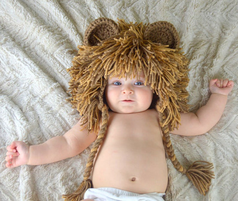 Lion Hat Costume for baby