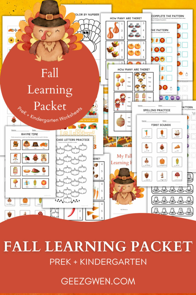 Fall Learning Packet
